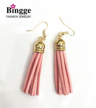 Korean fashion accessories cashmere Tassel Earrings