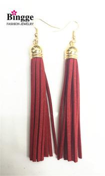 South Korea cashmere Tassel Earrings