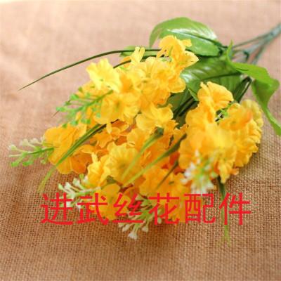 5 artificial flowers flower simulation silk flower hyacinth wholesale