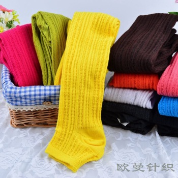 2015 new children's foot pantyhose and women's hand combed cotton Leggings Pants children socks wholesale