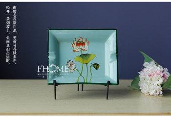 Fashion Home Furnishing ceramic ashtray exquisite ceramic decoration decoration ceramic crafts