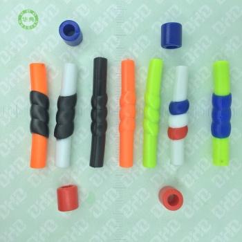 ロープの頭、レース、ベルト、ヘッド、プラスチック、ソフト、プラスチック、ロープ、装飾的なボタン。