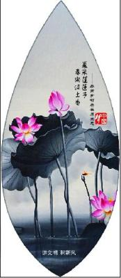 Chinese dream travel crafts China wind creative painting veins bookmarks