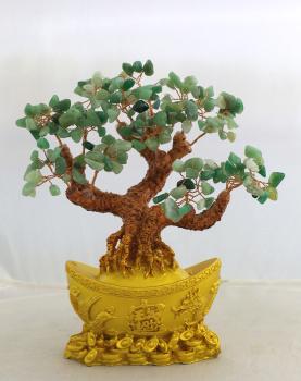 水晶发财树,招财树,摇钱树