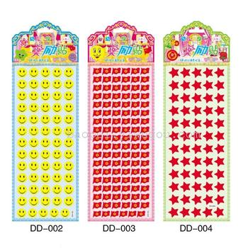 1つの泡ステッカー工場直接販売における小学校の子供たちの報酬3