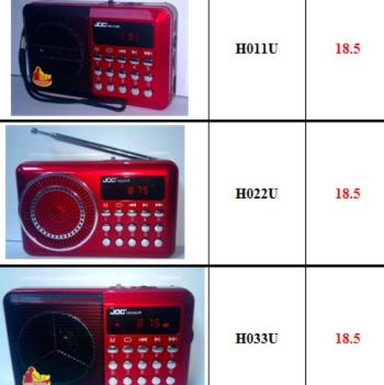 Joc011 022033 series radio