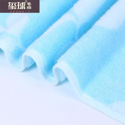 Cotton towels AB yarn jacquard towels gift towels Xi ball towels