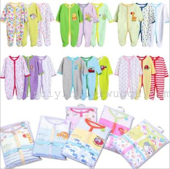 Baby piece clothes, cotton clothes, clothing, clothing, foreign trade, foreign trade