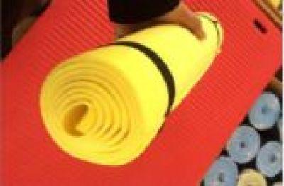 EVA color single pattern yoga mat