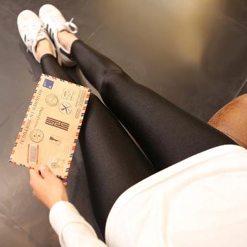 Portugal gloss thin gloss Leggings Pants socks pantyhose legs stovepipe socks