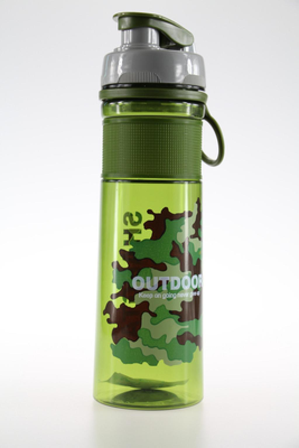 尚泰运动塑料太空杯迷彩水壶水杯680ml防烫防漏 6071