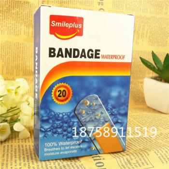 PE waterproof elastic bandage PVC breathable medical aid 72*19mm Boxed
