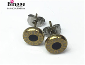 South American fashion jewelry 316L stainless steel earrings
