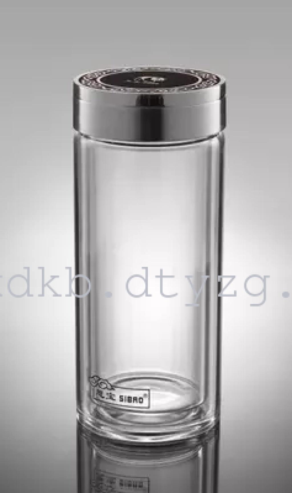 大同云中购思宝祥云万里男女水杯茶杯高硼硅玻璃杯