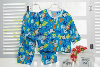 Children selling cotton silk suit baby pajamas air conditioning service