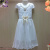 Yiwu purchase the child 2018 short sleeved lace gauze skirt dress Tutu Children Summer Princess Dress