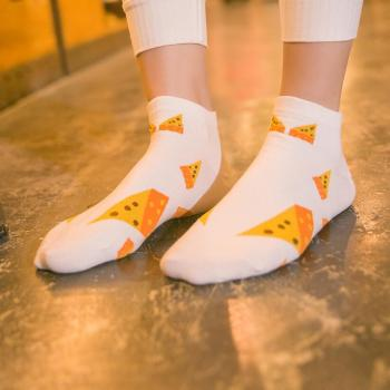 Women's socks spring and summer new style of leisure lovely cartoon cotton ladies boat socks