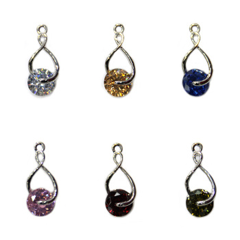 Xin billion zinc alloy accessories zircon jewelry accessories pendant pendant