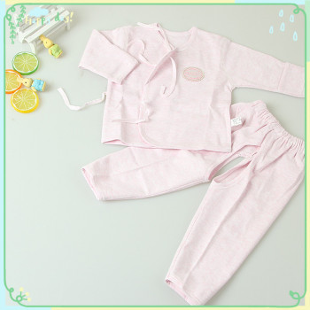 The new spring and summer cotton silk tether hand baby 2 sets of infants and young children