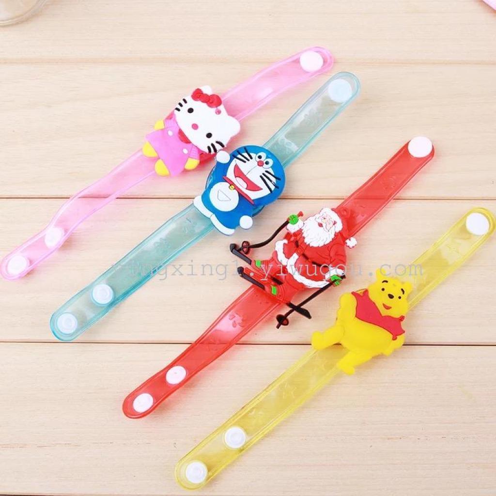 创意卡通手表闪光手腕带发光手环 儿童礼物小玩具批发