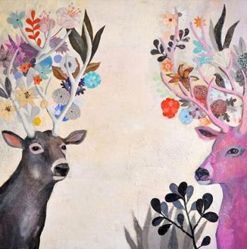 厚彩油画,动物油画