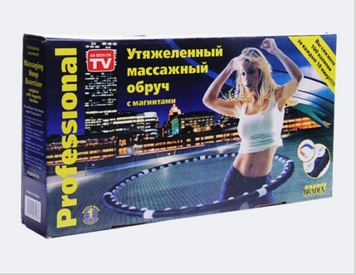 Creative foreign trade TV hula hoop hula hoop seven detachable hula hoop