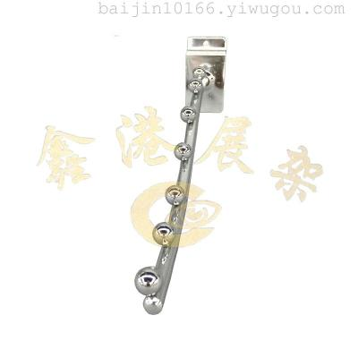 T slice 8 per 7 ball hook 30cm clothing store special decorative hook