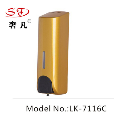 Where the luxury hotel supplies soap dispenser Gaestgiveriet Hotel bathroom single head press type soap box