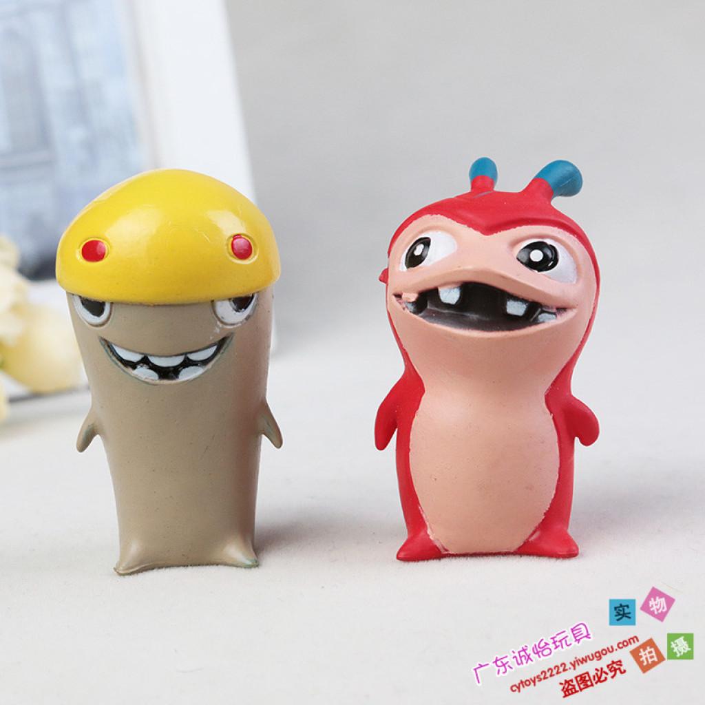 动漫主题 pvc玩具小怪物 桌面摆件 玩偶公仔 斯拉格精灵