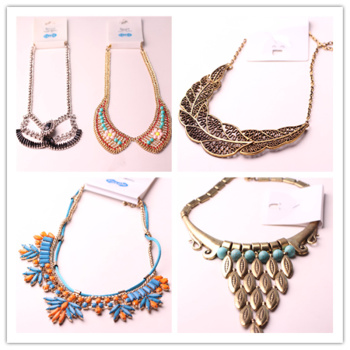 35 yuan a catty wholesale and exaggerated Necklace necklace and short poop