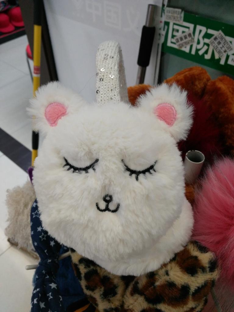 卡通可爱的猫头耳罩