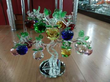 The apple tree Home Furnishing crystal decoration decoration