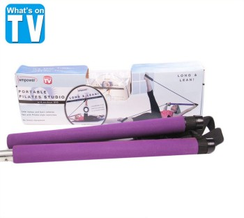 Wholesale direct lady Yoga indoor fitness equipment one multifunctional chest expander