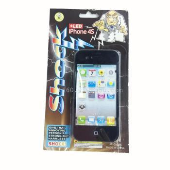 整人玩具屏幕触电整蛊手机创意恶搞电人玩具iphone5s苹果碎了图片