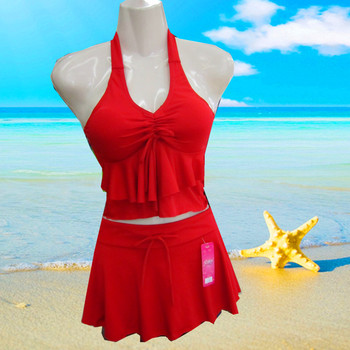 Split lady Swimsuit Cover belly thin hot spring swimming with a swimsuit on behalf of