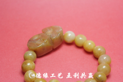 Germany edge technology Topaz natural jade Pixiu bracelet Huang Yushi bracelets sell factory direct