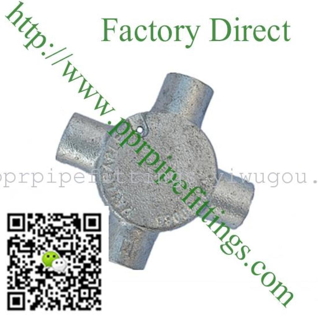 防水接线盒 电器电工盒 玛钢管件