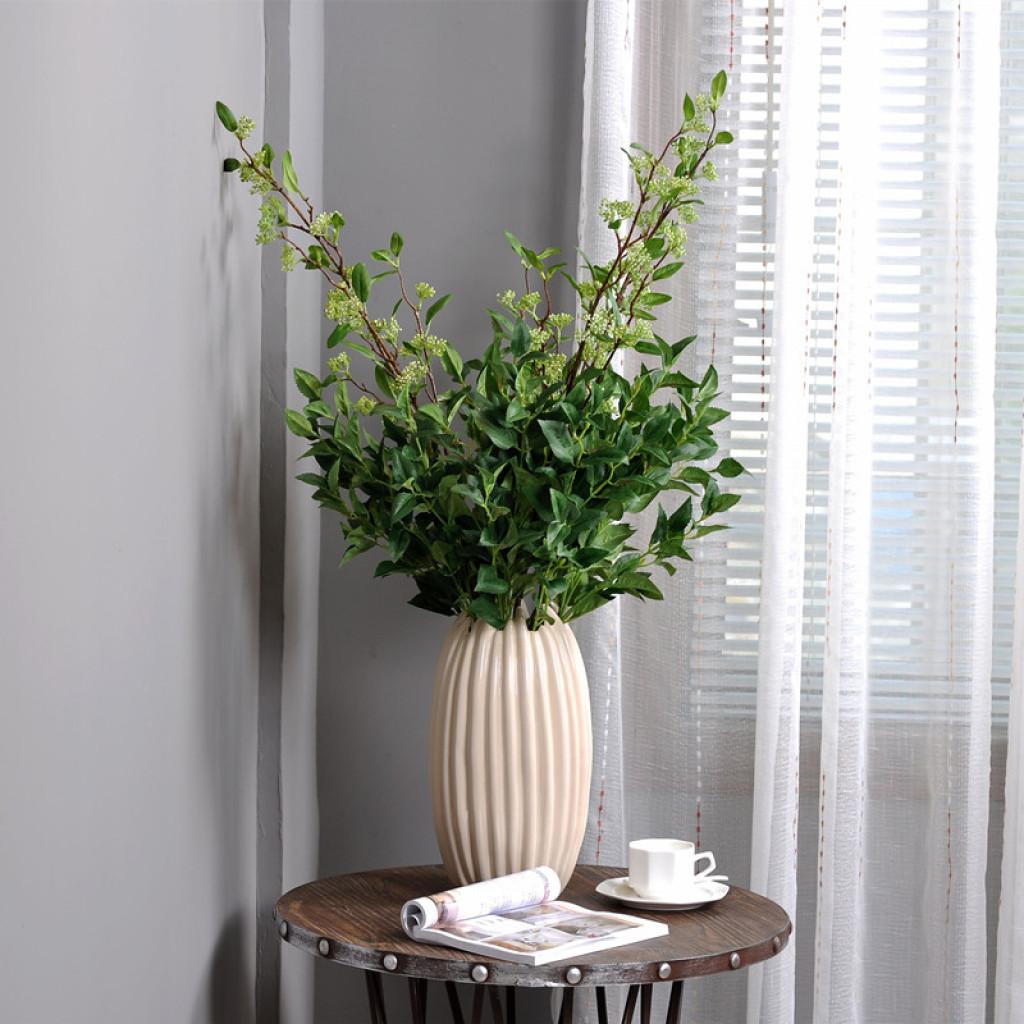 植物墙配材 家居室内软装绿植装饰 单枝苏子叶