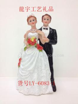 Resin material wedding decoration crafts products accessories