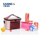 高品质两色保温冰包 手提便携加厚珍珠棉饭盒包