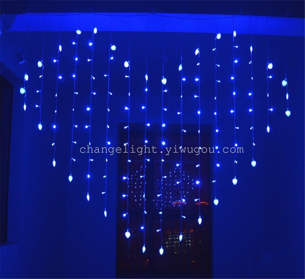 结婚婚房装饰led心形彩灯闪灯串灯生日派对求婚布置
