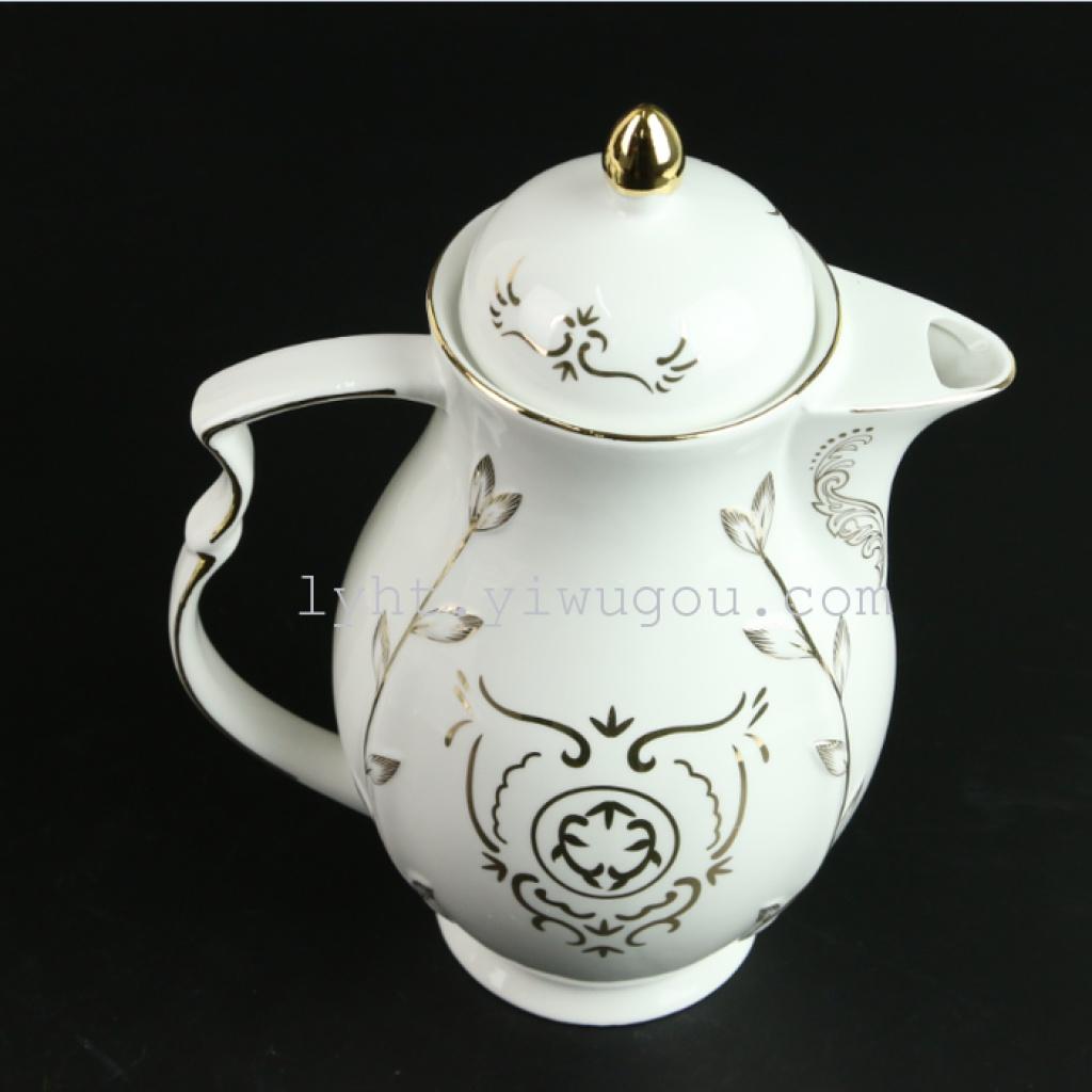 欧式精美陶瓷 骨瓷高档茶具水具批发