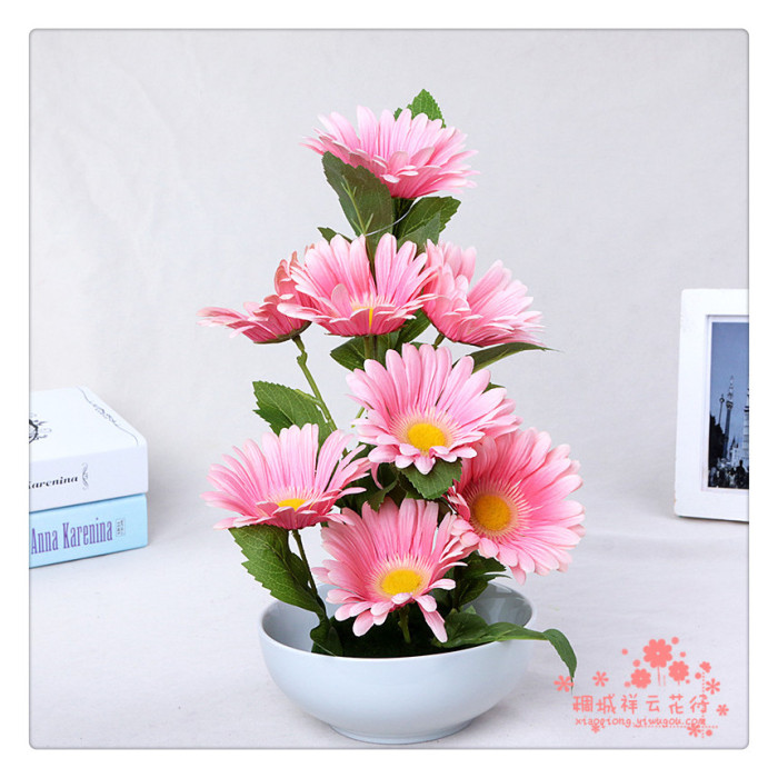 Supply Artificial flowers Home Furnishing simulation flower jewelry ...
