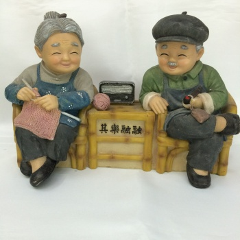 The innovation of resin crafts old furniture accessories resin handicrafts together