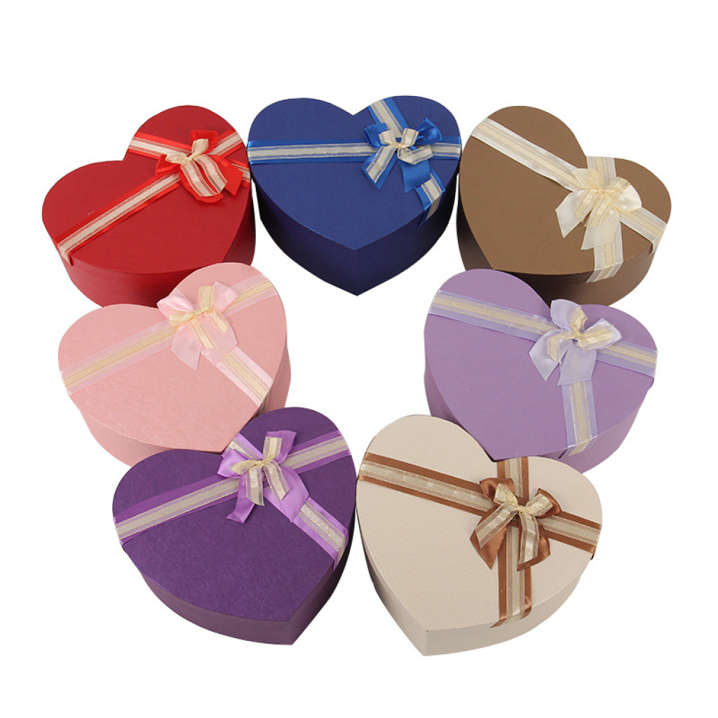 Chocolate Heart Shaped Gift Boxes : Supply large heart shaped gift box valentine birthday