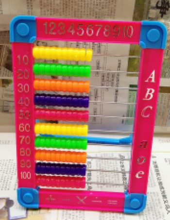 China's abacus is a new manufacturer of children's toys.