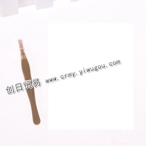 Gold tweezers eyebrow clip flat eyebrow eyebrow tweezers tweezers beauty tools tools