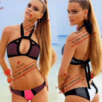 Ms. Bikini Halter Swimsuit out foreign trade