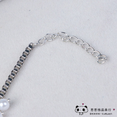 The new alloy lady pearl fashion fringed Anklets