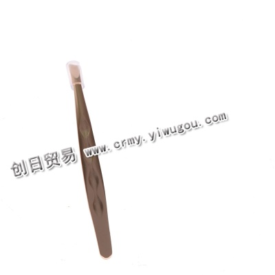 Gold tweezers eyebrow clip flat eyebrow eyebrow tweezers tweezers beauty tools tools